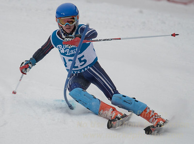James Mahoney races at Berkshire East in the U19 Slalom Schaefer Cup