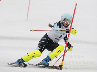 Chandler, Isabelle - U19 race at Blandford Ski Area on February 25, 2017