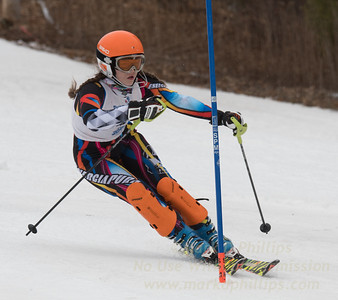 Howley, Kaitlyn - U19 race at Blandford Ski Area on February 25, 2017
