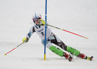 Colman, Allegra - U19 race at Blandford Ski Area on February 25, 2017