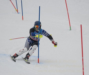 Jack Alberici at U19 Slalom at Sundown Ski Area on Sunday, January 22, 2017