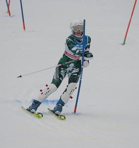 Eva Clough races during U19 Slalom at Sundown Ski Area on Sunday, January 22, 2017