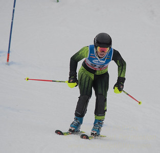 Lane Anderson at U19 Slalom at Sundown Ski Area on Sunday, January 22, 2017