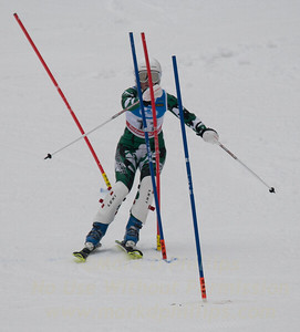 Eva Clough races during U19 Slalom at Sundown Ski Area on Sunday, January 22, 2017