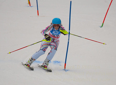 Liza Phillips during U19 Slalom at Sundown Ski Area on Sunday, January 22, 2017