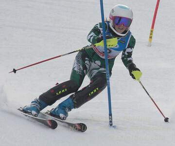 M. Hatch at the U21 slalom race at Ski Sundown on January 21, 2018.