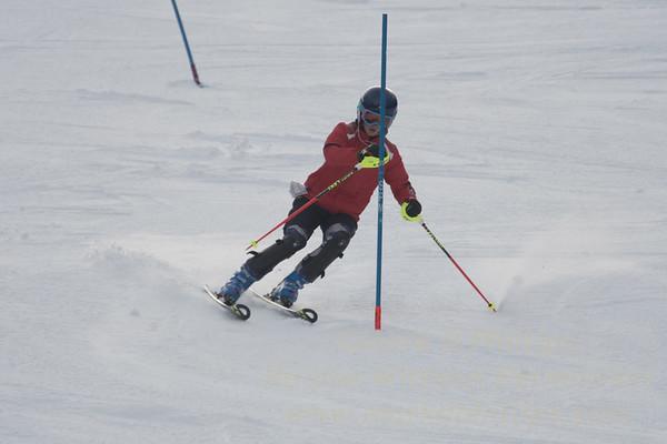 U19 Slalom race at Sundown Ski Area January 21, 2018