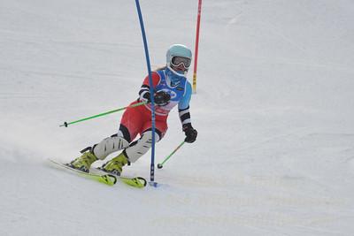 at the U21 slalom race at Ski Sundown on January 21, 2018.