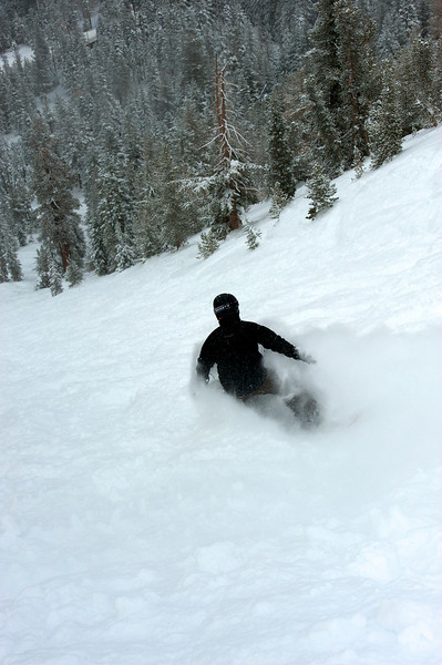 A powder day at Mt Rose 19