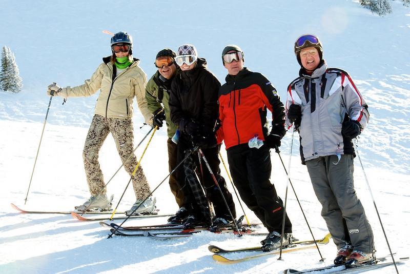 Skiing Grand Targhee with Hawk's Flock 7