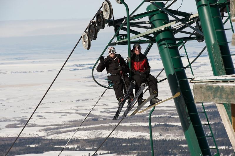 Skiing Grand Targhee with Hawk's Flock 11