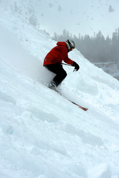 A powder day at Mt Rose 20