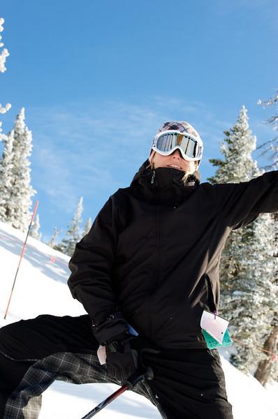 Skiing Grand Targhee with Hawk's Flock 20