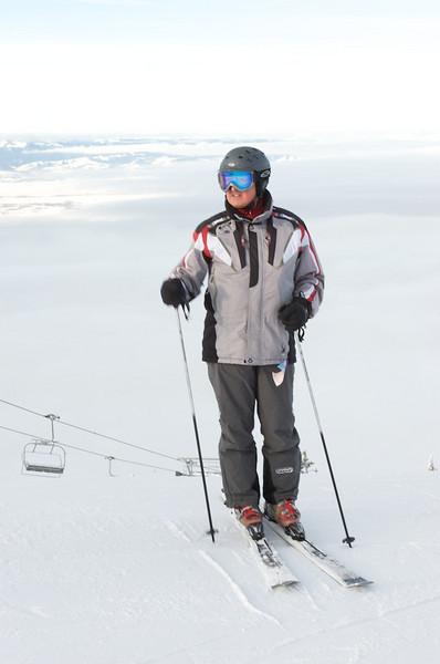 Skiing Grand Targhee with Hawk's Flock 1