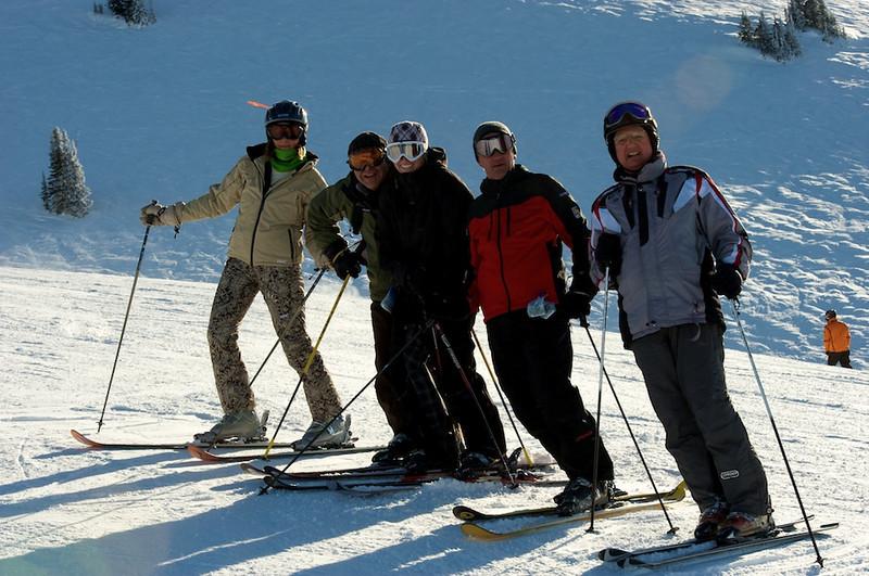 Skiing Grand Targhee with Hawk's Flock 6