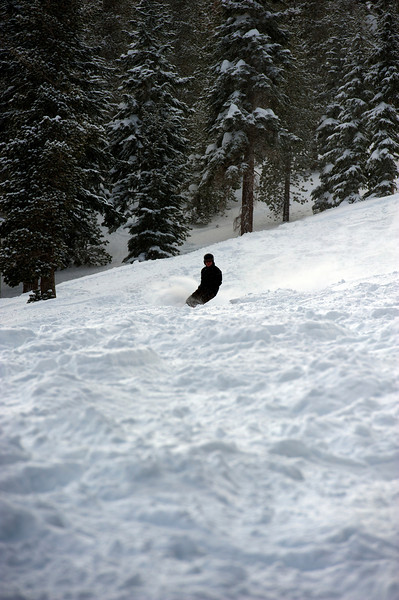 A powder day at Mt Rose 29