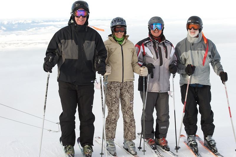 Skiing Grand Targhee with Hawk's Flock 2