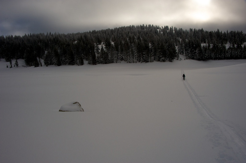 Skiing Incline Peak with Lara 3