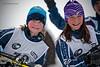Stella & Liliane, gold & silver PeeWee filles<br /> Trois-Rivières Classique<br /> January 19, 2013