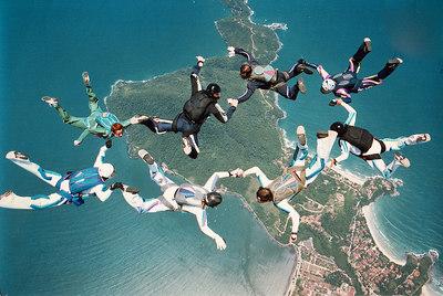 1997 Ubatuba's boogie. Jump organized by Ricardo Pettena.