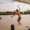 Kangaroo Point Slacklining :