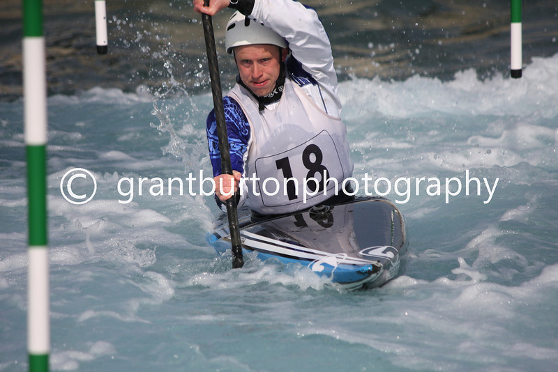 Slalom Canoe GB Trials  049