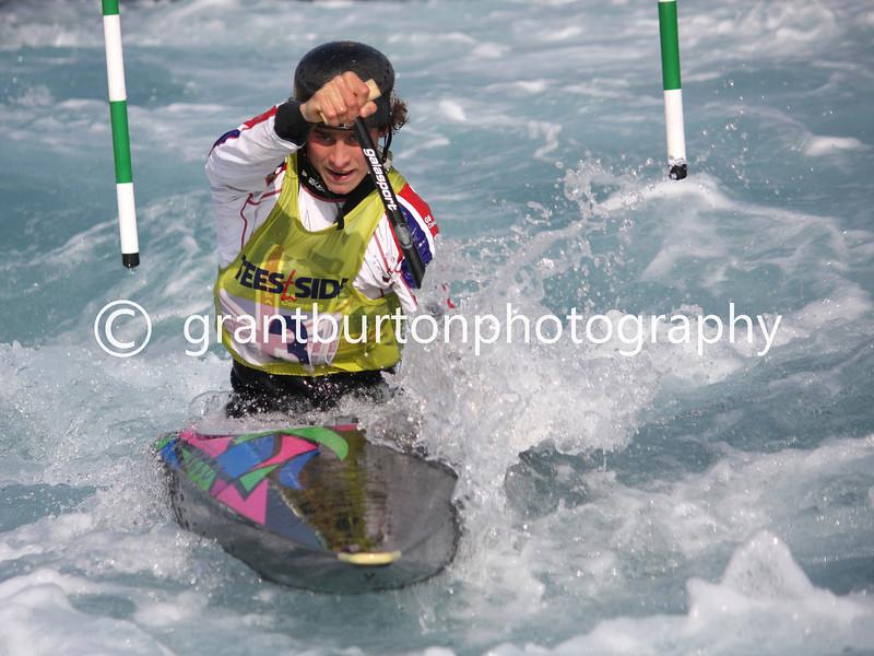 Slalom Canoe GB Trials  012