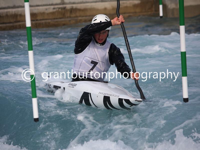 Slalom Canoe GB Trials  095