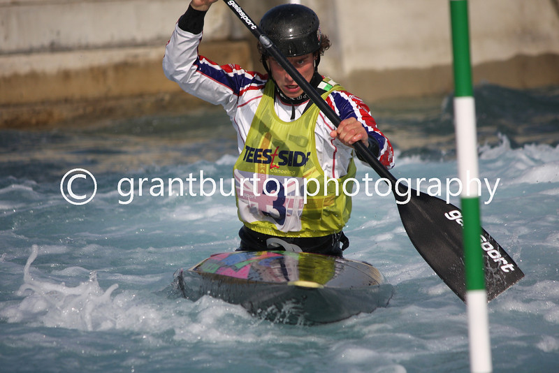 Slalom Canoe GB Trials  010