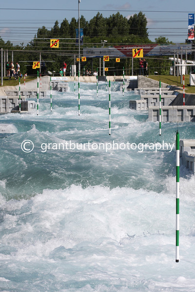 ICF CANOE SLALOM 2014 WORLD CUP 1  -  Lee Valley White Water Centre, London, UK