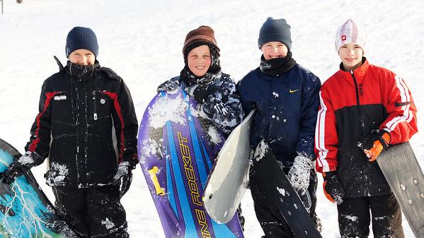 Sledding - December 2010