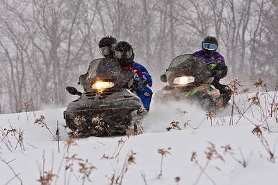 Riding the Sled Trails