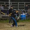 Slow pitch baseball under the lights in Moosonee.