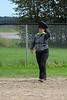 Slow pitch co-ed baseball in Moosonee.