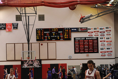 Snake River v Shelley boys bb 1/18/14