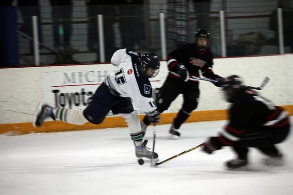 PNAHA TIering vs Bellingham (Game 2-Nov 1 2009)