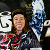 PARK CITY, UT - JANUARY 22: Shaun White takes the podium after winning the US Snowboarding Grand Prix on January 22, 2010 in Park City, Utah.