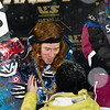 PARK CITY, UT - JANUARY 22: Shaun White receives his gold medal after winning the US Snowboarding Grand Prix on January 22, 2010 in Park City, Utah.
