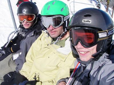 Blake, Ron and me.