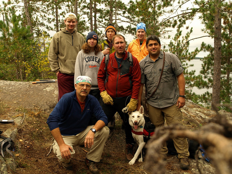 "This is a story of our team.  Seven volunteers cleared section of the Snowbank Trail in the BWCA. USDA Forest Service provided tools and boat ride to work site.  We supplied the sweat equity and cut brush and treefalls out of the path.  Watch for more slides they are being developed.  Next update""   9/23/2008"
