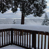 Big snow at Bert and Tami's place just before Thankgiving