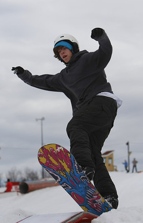 Snowboarding @ Elm Creek 11 March 2012