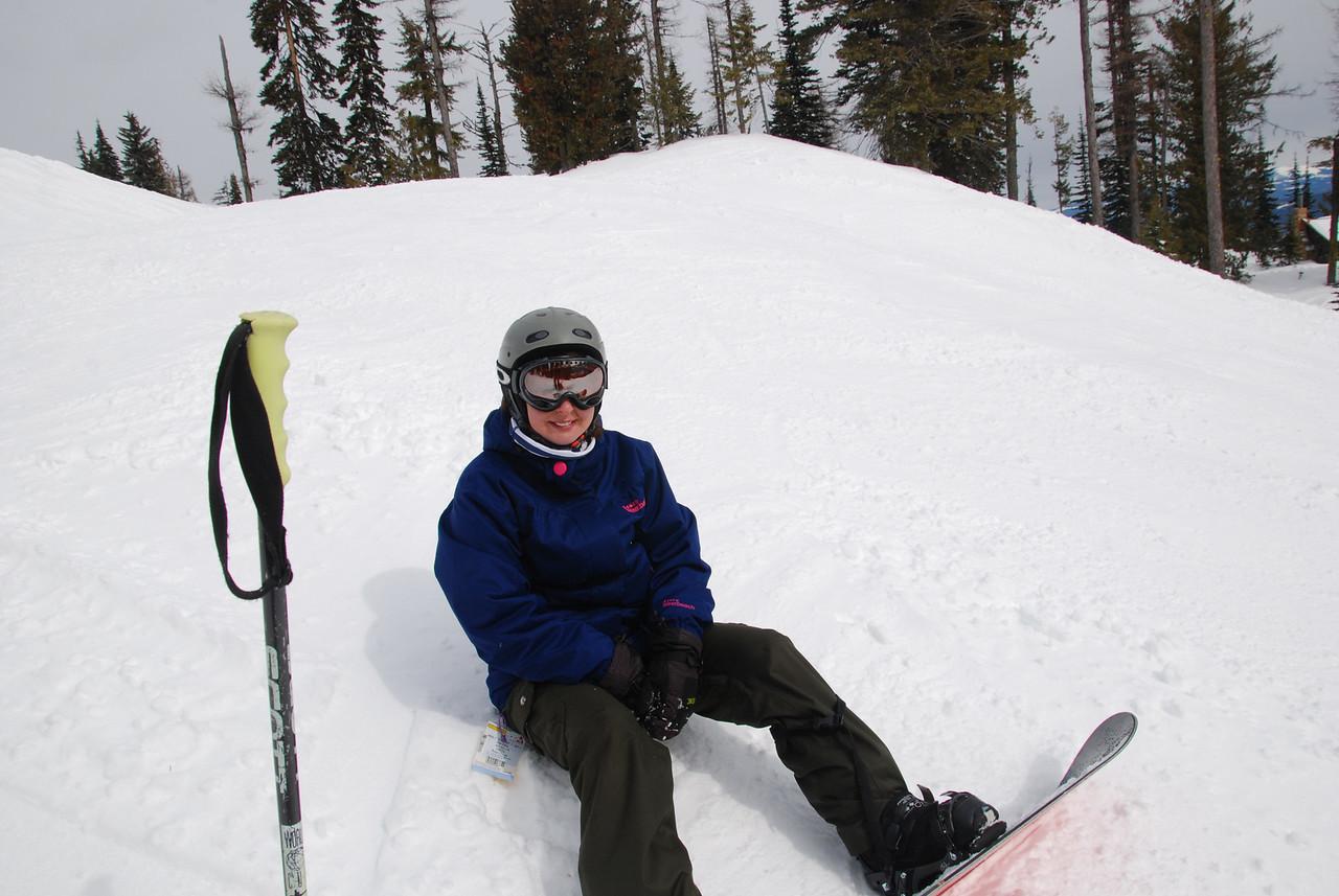 Jill at Red Mountain 2014.