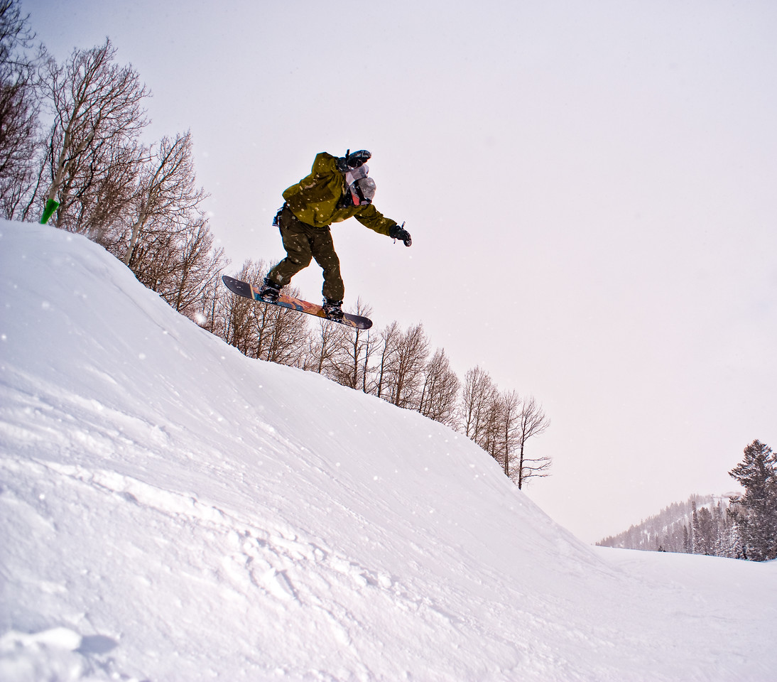 Snowboard Jump 5