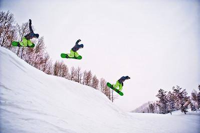 Snowboard Jump 1