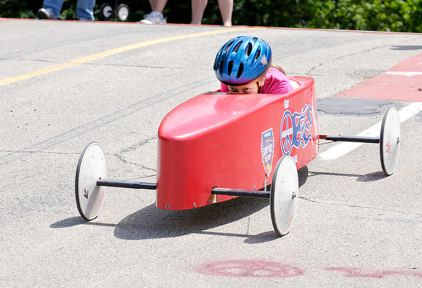 Don Knight | The Herald Bulletin<br /> Soap Box Derby at Derby Downs on Saturday.