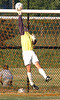 Science Hill goalie blocks shot late in game to snuff out chance for D-B come back. Photo by Ned Jilton II