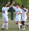Hilltopper celebrate go ahead goal. Photo by Ned Jilton II
