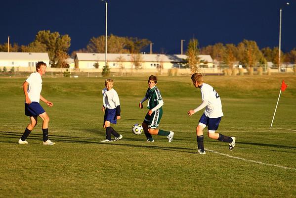 Bulldogs vs Foothills Junior Varsity 2009
