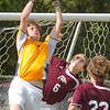 South goalie break-up scoring effort by Bearden. Photo by ned Jilton II